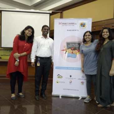 Happy Faces at Project Mumbai