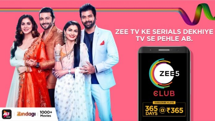 Zee 5 best entertainment value for money club pack