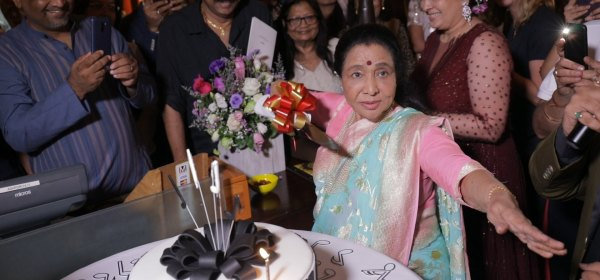 Happy Birthday Asha Bhosale
