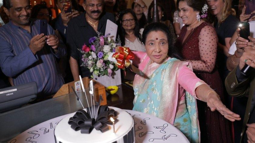 Happy Birthday Asha Bhosale