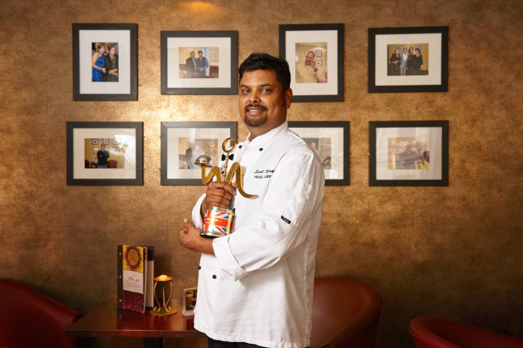 Chef Sunil Kumar has been with Asha's for over 15 years. Pic: British Curry Award