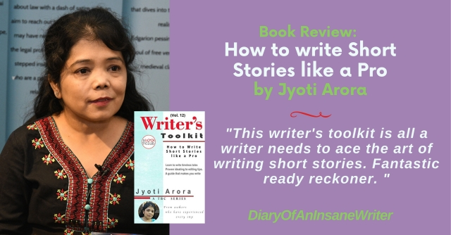 Book Review:  How To Write Short Stories Like A Pro By Jyoti Arora