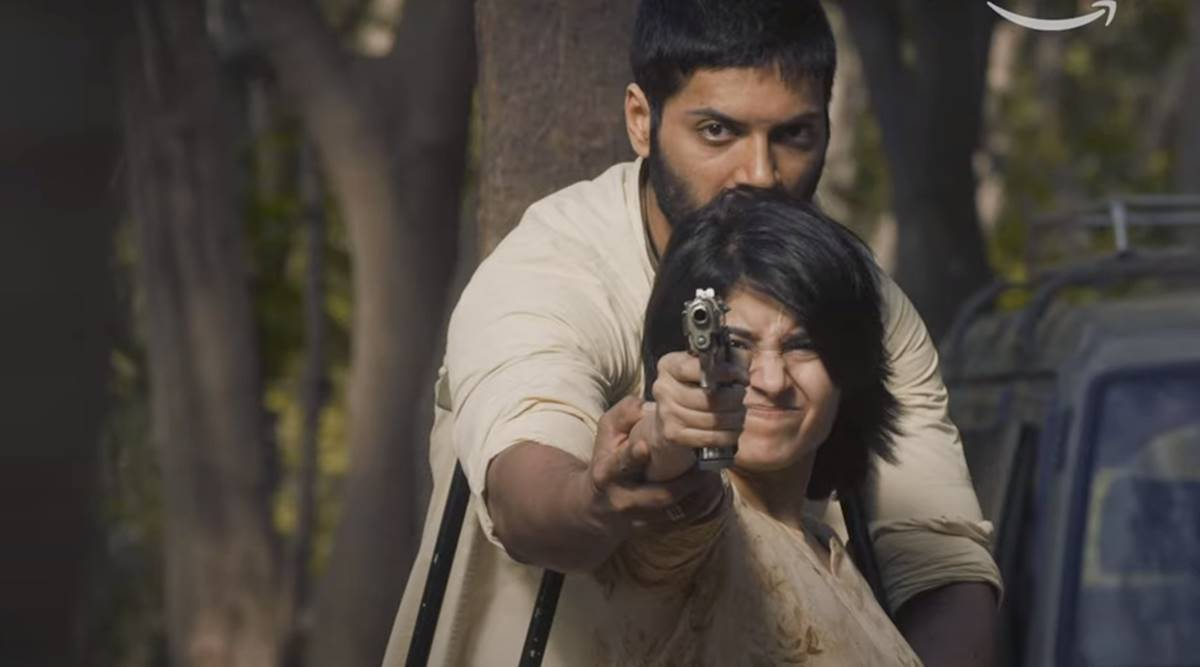 Ali Fazal and Shweta Tripathi best scene mirzapur season 2