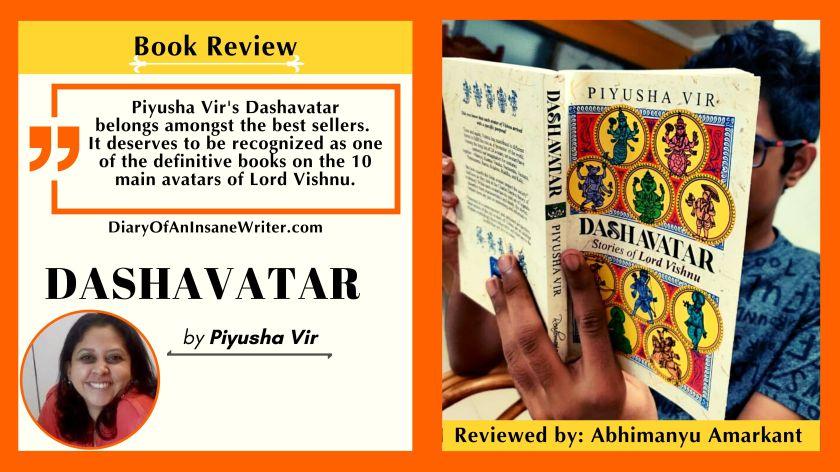 Dashavatar - by Piyusha Vir - best book on Vishnu's avtars