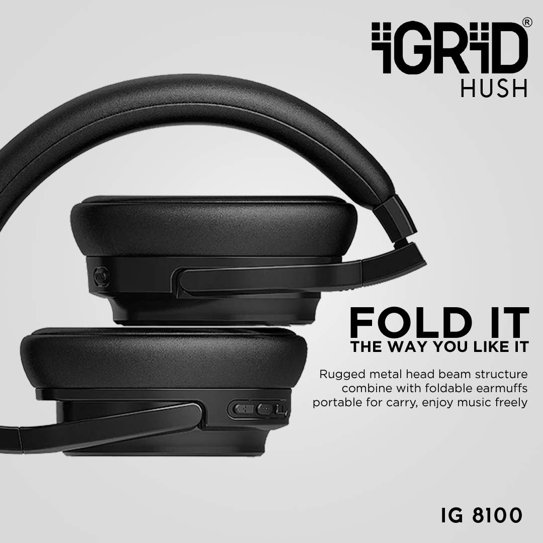 Foldable earmuffs portable, enjoy music freely, best headphones noise cancellation